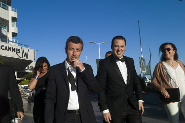 France, Cannes, 15 May 2016~Film festival de Cannes. mannen in smoking~Jet Budelman/Jet Budelman