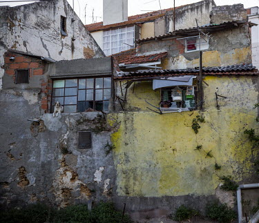 Portugal, Lisbon, Beato. 2014-08-03. The Beato neighbourhood is one of the most impoverished areas.../Ernst Schade