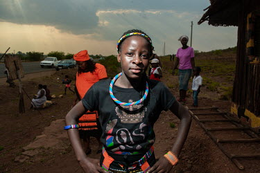 Johannesburg- 240918 -Portraits of residents of an informal settlement near Boikethlong township.../Frank Trimbos