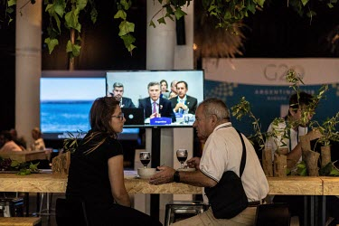 ARGENTINA - G20 Leaders summit Backstage - Coulisse du sommet des leaders G20/Anita Pouchard Serra