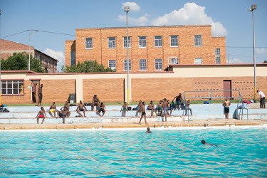 Johannesburg 041117 - An overview of Brixton swimming pool. A public pool that is located in one of.../Frank Trimbos