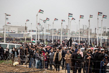 PALESTINIAN-ISRAEL-CONFLICT-MARCH OF RETURN-UNREST/Fr�d�ric Scheiber / Hans Lucas