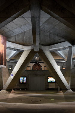 FRANCE - RELIGION - BASILICA PIE X - LOURDES/Laurent Ferriere / Hans Lucas