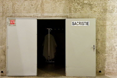 FRANCE - RELIGION - BASILICA PIE X - SACRISTY - LOURDES/Laurent Ferriere / Hans Lucas