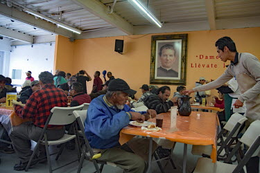Copyright Teun Voeten Tijuana, Mexico, June 1st 2019 At the Desayunador de Padre Chava, a Salesion.../Teun Voeten