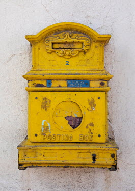 ERITREA - LETTER BOX FROM ENGLSIH COLONIAL TIMES - ASMARA/Eric Lafforgue / Hans Lucas