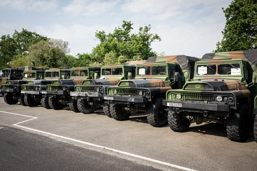 FRA - LAB - COVID - ARQUUS RESUMES ITS MILITARY VEHICLES PRODUCTION DURING THE CORONAVIRUS OUTBREAK/J�r�mie Lusseau / Hans Lucas