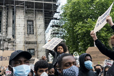 Belgium, Brussels, 7 June 2020 Protest against racism and police violence following the death of.../Jet Budelman