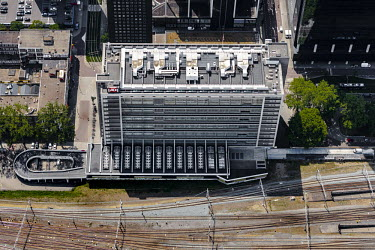 Central Post voormalige Stationspostkantoor in het centrum van Rotterdam in de provincie.../John Gundlach