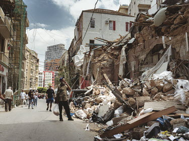 LEBANON - THE AFTERMATH - BEIRUT BLAST/Simon Guillemin / Hans Lucas