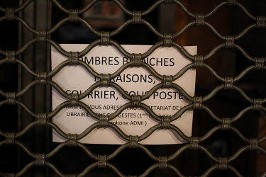 FRANCE - POSTER - INDEPENDENT LIBRARY - TOULOUSE - CONTAINMENT/Sandra Fastre / Hans Lucas