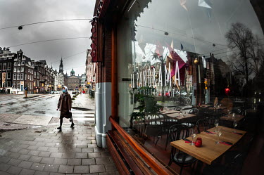 Restaurants gesloten tijdens de kerstdagen / Closed restaurants at Christmas, Amsterdam/Unai Risue�o