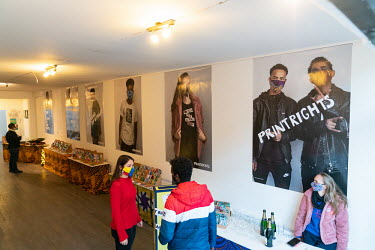 PrintRights Pop Up Shop Official Opening/Elmer van der Marel