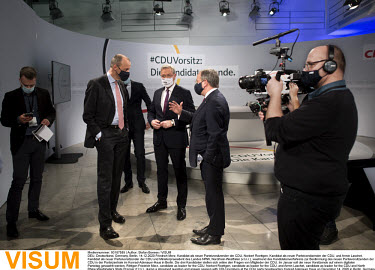 CDU Candidacy For CDU Leadership/Stefan Boness / VISUM