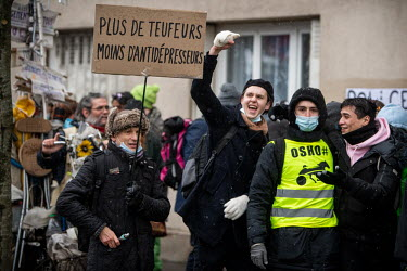 FRANCE - Demo against Security Bill and for Free Parties/Benjamin Girette / Hans Lucas