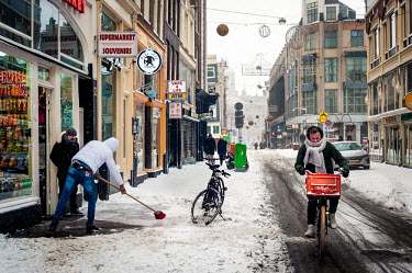 Extreem winterweer in Amsterdam/Unai Risue�o