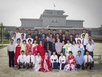 Huwelijkreis in Noord-Korea