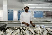 De  Muttrah vismarkt in Oman