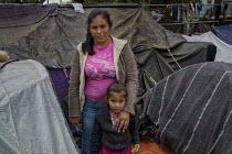 Central Amercain Refugee Camp