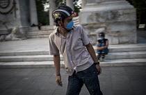 Het masker (H1N1 Virus)