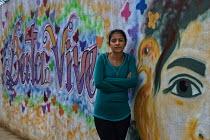 Berta Cáceres, een Hondurese milieuactiviste